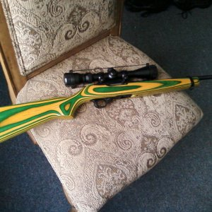 yello & green Ruger