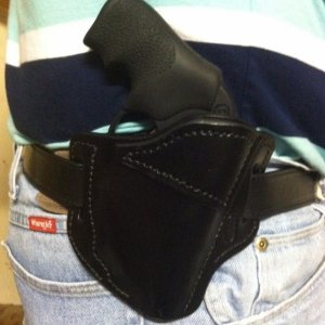 LCR-LM holster Jackson Leather Work