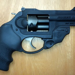 LCRX-3 with LCR grip and Lasermax laser